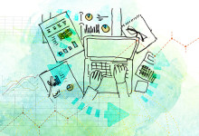 Ilustrações Gestão e Finanças